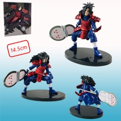 Naruto Uchiha Madara Anime Japanese Cartoon Figure Toy