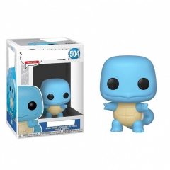Funko POP Pokemon Squirtle 504# Cosplay Collection Model Toy Anime Figure 10cm