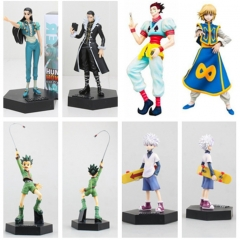6 Styles Hunter X Hunter GON FREECSS Killua Zoldyck Anime Figure Collection Toy