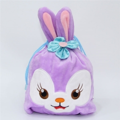 Duffy Rabbit Cartoon Anime Plush Drawstring Pocket Bag