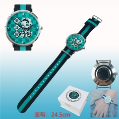 Demon Slayer : Kimetsu no Yaiba Anime Nylon Tape Bracelet Wrist Watch