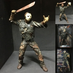 7 Inches Friday the 13th  Movie Jason Action PVC Figure Toy
