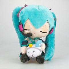 Hatsune Miku VOCALOID with Cat Japanese Cartoon Cosplay Stuffed Doll Anime Plush Toy 13 inches