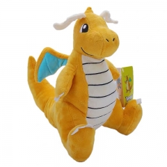 25cm Pokemon Dragonite Character Collection Doll Anime Plush Toys ( Original  )