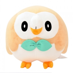 25cm Pokemon Rowlet Character Collection Doll Anime Plush Toys ( Original  )