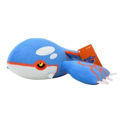 25cm Pokemon Kyogre Character Collection Doll Anime Plush Toys ( Original  )