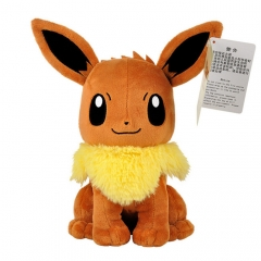 26cm Pokemon Eevee Character Collection Doll Anime Plush Toys ( Original  )