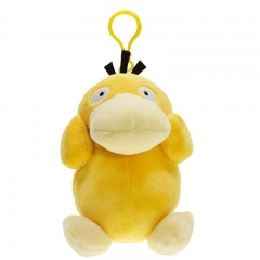 11cm Pokemon Psyduck Character Collection Doll Anime Plush Toys Pendant Keychain ( Original  )