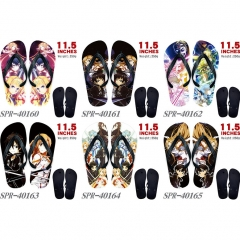 6 Styles Sword Art Online Soft Rubber Flip Flops Anime Slipper