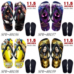 4 Styles Fortnite Game Soft Rubber Flip Flops Anime Slipper