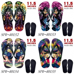 4 Styles JoJo's Bizarre Adventure Cartoon Cute Soft Rubber Flip Flops Anime Slipper