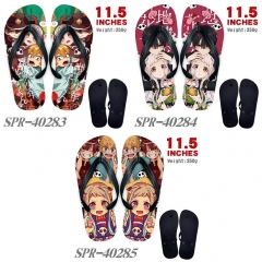 3 Styles Toilet-Bound Hanako-kun Soft Rubber Flip Flops Anime Slipper
