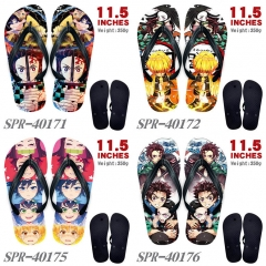 17 Styles Demon Slayer:Kimetsu No Yaiba Soft Rubber Flip Flops Anime Slipper