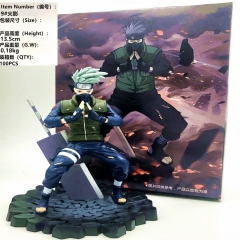 Naruto Hatake Kakashi Anime Figure Japanese Collection Toy 13.5cm