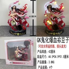 GK Demon Slayer: Kimetsu no Yaiba Kamado Nezuko Anime Figure Toy ( with light)