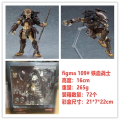 Figma SP-109 Alien Vs Predador Predator Takayuki Takeya Cartoon Character Collection Toy PVC Anime Figure Toys 16CM