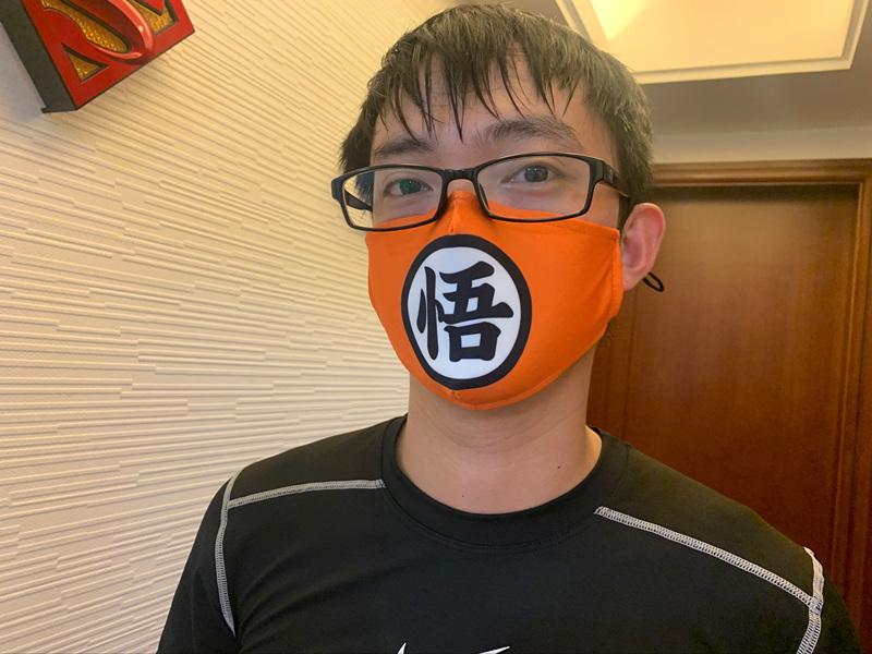 Star War Cosplay Cartoon Mask Space Cotton Anime Print Mask
