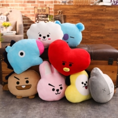 2 Sizes 8 Styles BT21 K-POP BTS Bulletproof Boy Scouts Anime Plush Pillow