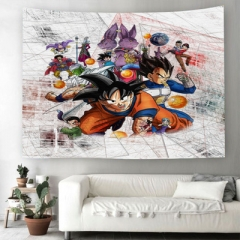 10 Styles Dragon Ball Z Polyester Material Multifunctional Tapestry/ Wall Scroll Decoration/Beach Towel