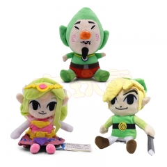 20CM The Legend of Zelda Cartoon Character For Kids Collectible Doll Anime Plush Toy