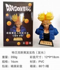 Dragon Ball Z Torankusu Anime Figure Toy Collection Doll(with light)