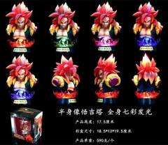 GK Dragon Ball Z Gogeta Anime Figure Toy Collection Doll (with light)