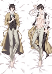 Bungo Stray Dogs Handsome Boy Body Bolster Soft Long Print Sexy Boy Pattern Pillow 50*150cm