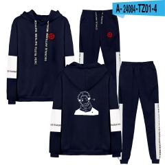 20 Styles  jujutsu kaisen Cosplay 3D Digital Print Anime Hoodie And Pants Set