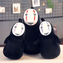 3 Colors Spirited Away No Face Man Anime Plush Toy Doll