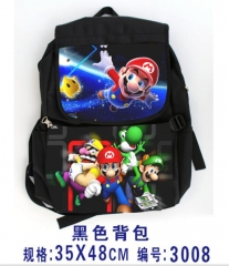 Super Mario Bro For Student Backpack Bag