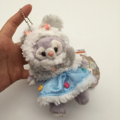 Disney StellaLou Cartoon Plush Toy Anime Cute Plush Toy Brooch Keychain