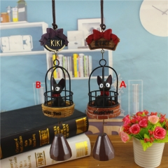 Kiki's Delivery Service 2 Designs Can choose Wind Chimes Wholesale Anime Cute Resin Windbell 18CM