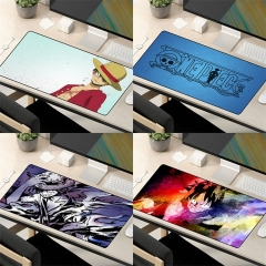 24 Styles One Piece Cartoon Cosplay Cheapest Mouse Pad Fancy Print Mouse Pad