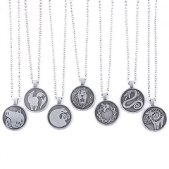 7 Styles The Seven Deadly Sins Game Alloy Necklace