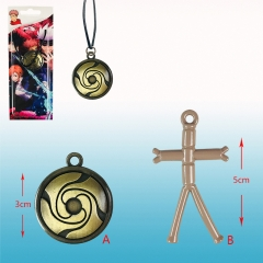 2 Styles Jujutsu Kaisen Japanese Cartoon Alloy Anime Necklace