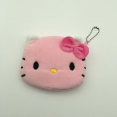 9X11CM Hello Kitty Anime Plush Purse
