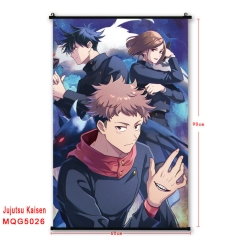 22 Styles Jujutsu Kaisen Japanese Cartoon Cosplay Anime Wallscrolls 60*90CM