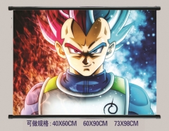 Dragon Ball Z Cosplay Cartoon Wall Scrolls Decoration Anime Wallscrolls