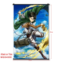29 Different Styles Attack on Titan Japanese Cartoon Cosplay Anime Wallscrolls 60*90CM