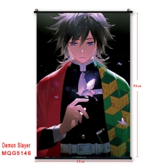 22 Styles Demon Slayer: Kimetsu no Yaiba Anime Wallscrolls Game Cosplay Cartoon Wall Scrolls Decoration 60*90cm