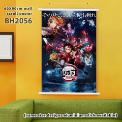 60*90cm  8 Styles Demon Slayer: Kimetsu no Yaiba Cartoon Wallscrolls Waterproof Anime Wallscrolls