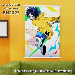 60*90cm  7 Styles WONDER EGG PRIORITY Cartoon Wallscrolls Waterproof Anime Wallscrolls