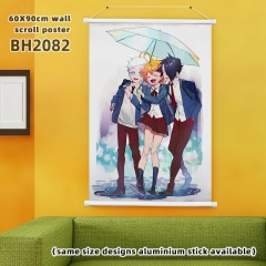 60*90cm  13 Styles The Promised Neverland Cartoon Wallscrolls Waterproof Anime Wallscrolls