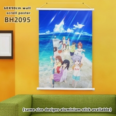 60*90cm  6 Styles Non Non Biyori Cartoon Wallscrolls Waterproof Anime Wallscrolls