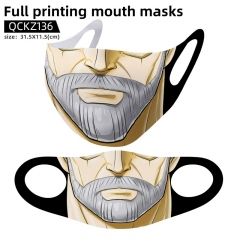 JoJo's Bizarre Adventure Mask Anime Face Mask Can Be Customized