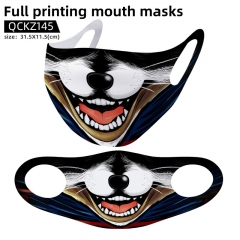 Rocket Raccoon Mask Anime Face Mask Can Be Customized