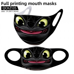 How to Train Your Dragon Mask Anime Face Mask Can Be Customized