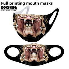 Alien vs Predator Mask Anime Face Mask Can Be Customized