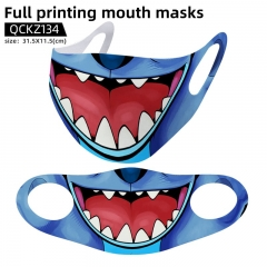 Lilo & Stitch Mask Anime Face Mask Can Be Customized