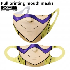 5 Styles Boku no Hero Academia/My Hero Academia Mask Anime Face Mask Can Be Customized